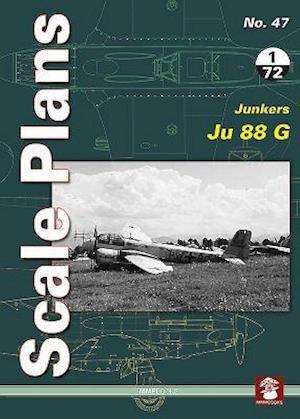 Bog, paperback Scale Plans 47: Junkers Ju 88 G af Maciej Noszczak