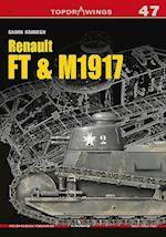 Renault FT & M1917 (Top Drawings, nr. 7047)
