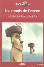 Los moais de pascua / Easter Sculpture af Jordi Sierra i Fabra