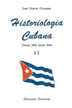 Historiologia Cubana II