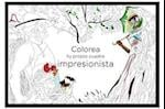 Colorea tu propio cuadro impresionista / Color Your Own Impressionist Painting