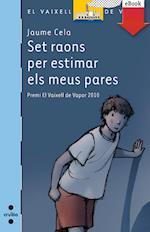 Set raons per estimar els meus pares (eBook-ePub) (BARCO DE VAPOR AZUL)