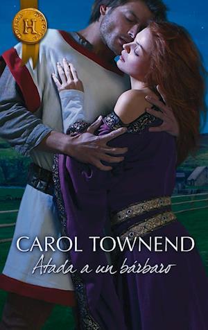 Atada a un bárbaro af Carol Townend