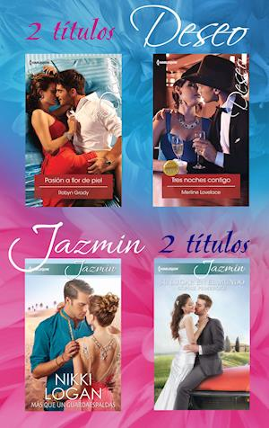 Pack Deseo y Jazmin abril 2016