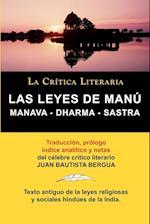 Las Leyes de Manu