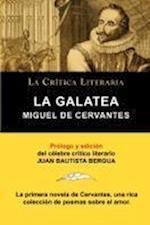 La Galatea de Cervantes, Coleccion La Critica Literaria Por El Celebre Critico Literario Juan Bautista Bergua, Ediciones Ibericas