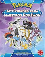 Actividades Para Maestros Pokemon / Pokemon All-Star Activity Book