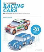 Racing Cars 3D Paper Craft