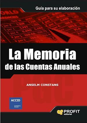 La memoria de las cuentas anuales