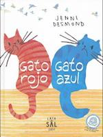 Gato rojo, gato azul / Red Cat, Blue Cat