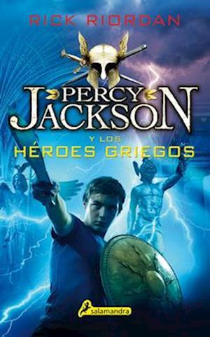 Bog, paperback Percy Jackson y Los Heroes Griegos af Rick Riordan