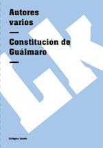 Constitucion de Guaimaro