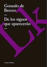 De los signos que apareceran af Gonzalo De Berceo