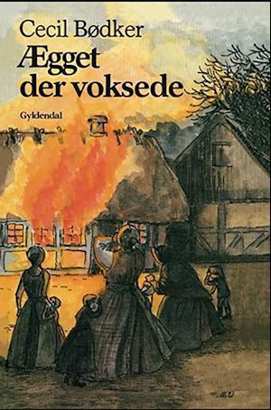 Bog, indbundet Ægget der voksede af Cecil Bødker