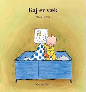 Bog indbundet Kaj er væk af Mats Letén