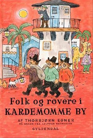 thorbjørn egner Folk og røvere i kardemomme by fra saxo.com