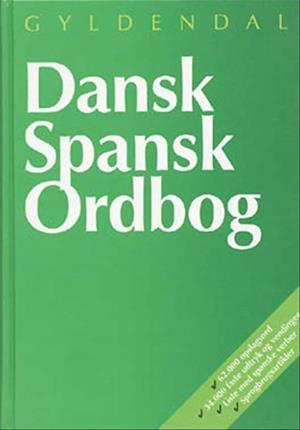 Bog, indbundet Dansk-spansk ordbog af Johan Windfeld Hansen, Birthe Gawinski