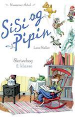 Sisi og Pipins skrivebog. skrivemestre af Lene Møller