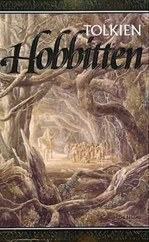Bog, hæftet Hobbitten. eller Ud og hjem igen af J R R Tolkien