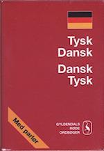 Tysk-dansk, dansk-tysk ordbog (Gyldendals røde ordbøger)