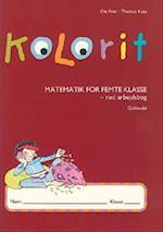 Kolorit 5. klasse, rød arbejdsbog (Kolorit Mellemtrin)