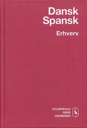 Bog, indbundet Dansk-spansk erhvervsordbog af Anne Lise Laursen, Sven Tarp, Virginia Hvid