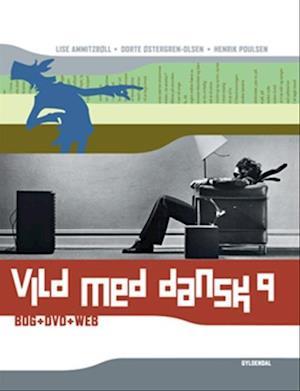 Bog, indbundet Vild med dansk 9 af Henrik Poulsen, Dorte Østergren-Olsen, Lise Ammitzbøll