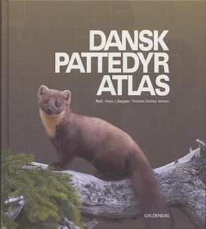 Bog indbundet Dansk pattedyratlas af Hans Baagøe Thomas Secher Jensen