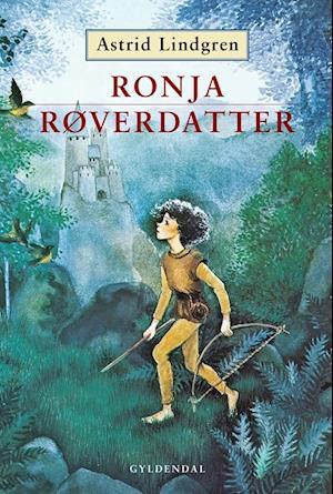 Bog, indbundet Ronja røverdatter af Astrid Lindgren