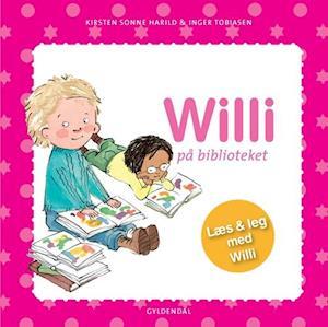 Bog indbundet Willi på biblioteket af Kirsten Sonne Harild Inger Tobiasen