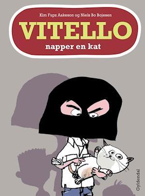 Bog indbundet Vitello napper en kat af Niels Bo Bojesen Kim Fupz Aakeson