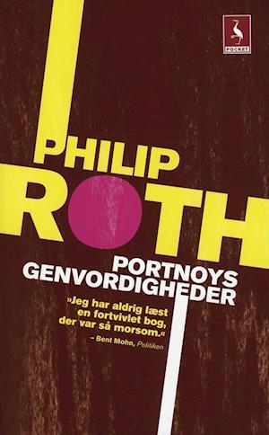 Bog, pocketbog Portnoys genvordigheder af Philip Roth