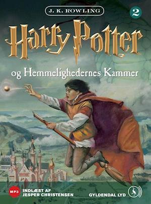 harry potter lydbøger dansk