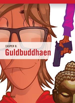 Bog hæftet Guldbuddhaen af Casper O. Jacobsen