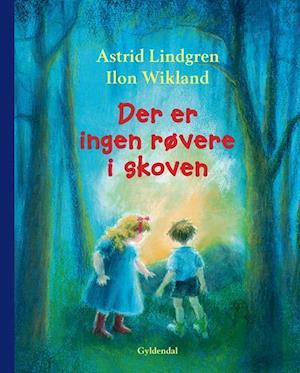 Bog indbundet Der er ingen røvere i skoven af Astrid Lindgren