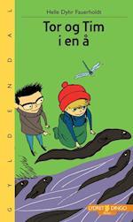 Tor og Tim i en å (Lydret Dingo)