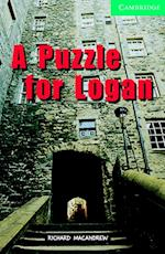 A Puzzle for Logan (Cambridge English Readers)