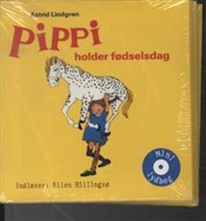 Bog, ukendt format Pippi holder fødselsdag af Astrid Lindgren