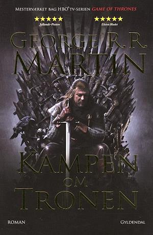 Bog, paperback Kampen om tronen af George R. R. Martin