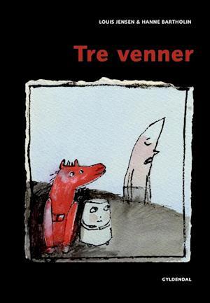 Bog indbundet Tre venner af Louis Jensen