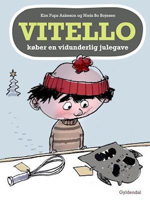Bog, indbundet Vitello køber en vidunderlig julegave af Kim Fupz Aakeson, Niels Bo Bojesen