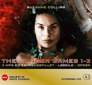 Lydbog, MP3-CD The hunger games 1-3 af Suzanne Collins