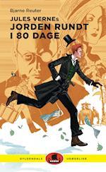 Jules Vernes Jorden rundt i 80 dage (Gyldendals udødelige)