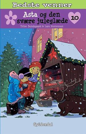 Bog, indbundet Asta og den svære juleglæde af Trine Bundsgaard