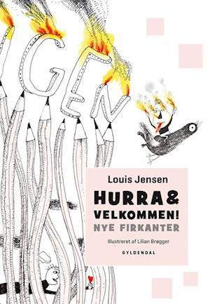 Bog, indbundet Hurra & velkommen! af Louis Jensen