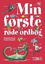 Min første røde ordbog - engelsk-dansk, dansk-engelsk (Gyldendals røde ordbøger)