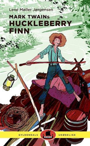 Bog indbundet Mark Twains Huckleberry Finn af Lene Møller Jørgensen