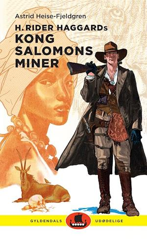 Bog, indbundet H. Rider Haggards Kong Salomons miner af Astrid Heise-Fjeldgren