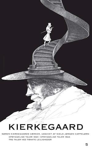 Bog paperback Søren Kierkegaards værker. Opbyggelige Taler 1843 - Opbyggelige Taler 1844 - Tre Taler ved tænkte Leiligheder - Kommentarer af Søren Kierkegaard