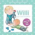 Willi leger med lillesøster (Willi)